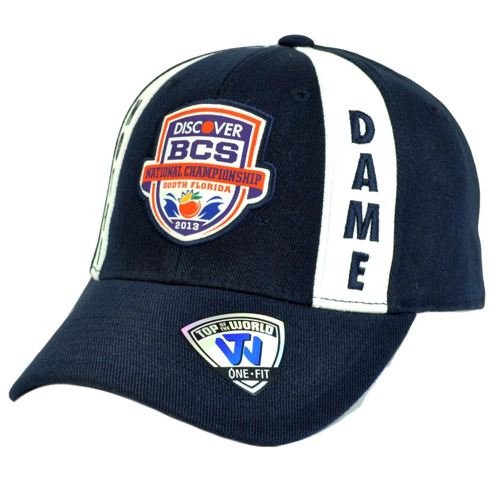 178ccc57087 NCAA Notre Dame Fighting Irish 2013 BCS National Championship Game ...