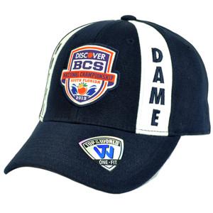 NCAA Notre Dame Fighting Irish 2013 BCS National Championship Game Flex Fit Hat
