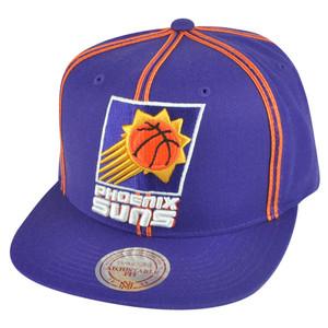 NBA Mitchell Ness HWC Phoenix Suns NJ08 Panel Outline Retro Snapback Hat Cap