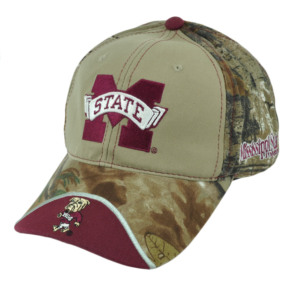 a472b9d55ea01 NCAA Mississippi State Bulldogs Realtree Camouflage Relaxed Sun ...