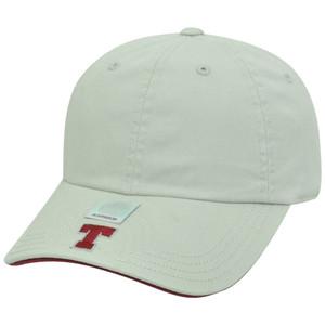 NCAA Massachusetts Institute of Technology Slouch Flambam Women Hat Cap Beige