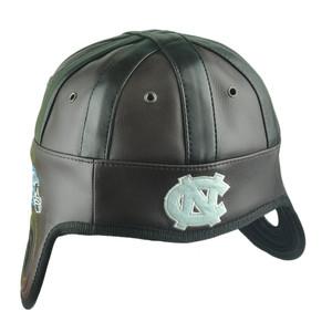 5cde19ee15b NCAA North Carolina Tar Heels Helmet Head Game Day Faux Leather Hat Cap UNC