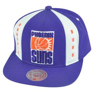 NBA Mitchell Ness HWC Phoenix Suns ND04 Panel Down Snapback Flat Bill Hat Cap