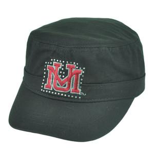 NCAA Montana Grizzlies Delia Women Ladies Military Fatigue Rhinestone Hat Cap