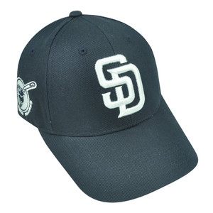 MLB Fan Favorite San Diego Padres Dalrymple Adjustable Navy Blue Velcro Hat Cap