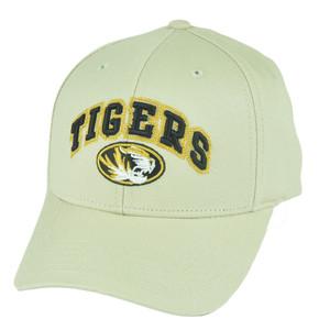 NCAA Missouri Mizzou Tigers Rezin College Constructed Strapback Velcro Hat Cap