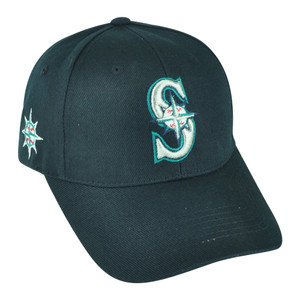 MLB Fan Favorite Seattle Mariners Dalrymple Baseball Adjustable Velcro Hat Cap