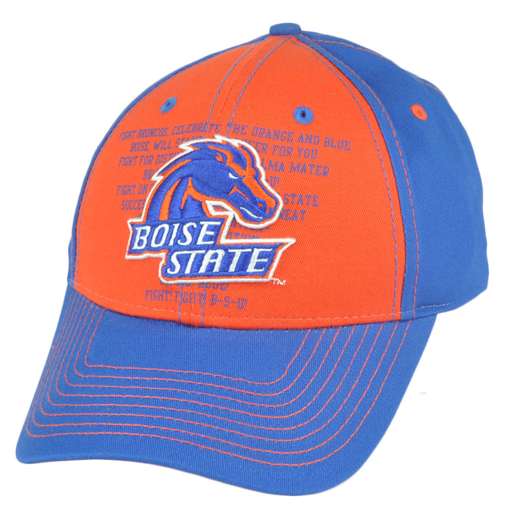 3542d4e8598 NCAA Boise State Broncos Fight Song Strapback Velcro College ...