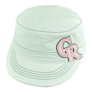 MLB Colorado Rockies Craze Women Ladies Military Fatigue Cadet Buckle Hat Cap