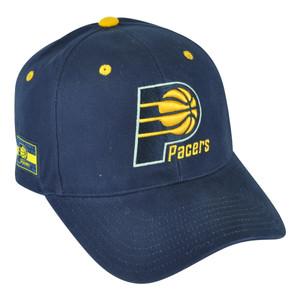 NBA Indiana Pacers HWC Masoli Elevation Velcro Navy Blue Hat Cap Adjustable