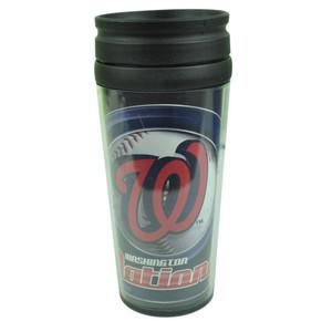MLB Washington Nationals Acrylic Travel Tumbler 16 Oz Mug Coffee Drink Cups