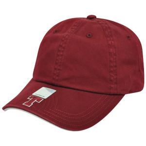 NCAA Massachusetts Institute of Technology Slouch Flambam Women Hat Cap Maroon