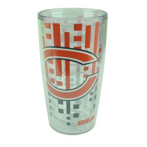NFL Chicago Bears Slime line 16oz Tumbler Translucent Cup Design Water Liquid