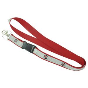 NCAA South Carolina Gamecocks Detachable Clip Key Chain Landyard Glitter ID Badge
