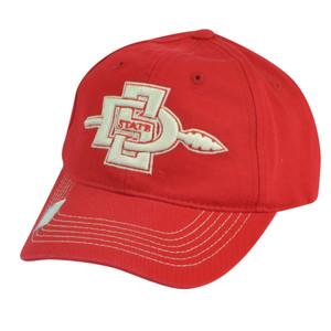 NCAA San Diego State Aztecs Sun Buckle Garment Wash Relaxed Hat Cap Adjustable