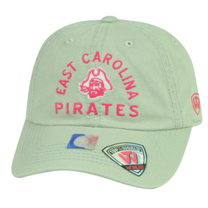 NCAA East Carolina Pirates Top of the World Womens Hat Cap Ladies Sun Buckle