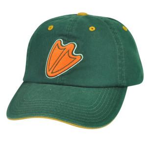 NCAA Oregon Ducks Top of the World Sun Buckle Green Garment Wash Hat Cap Relax