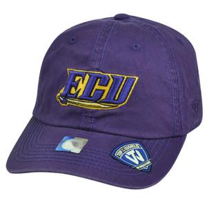 NCAA East Carolina Pirates Top of the World Sun Buckle Garment Wash Hat Cap