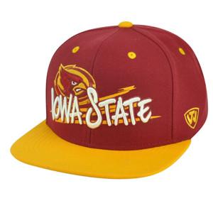 NCAA Iowa State Cyclones Youth Snapback Hat Cap Top of the World Hot Streak