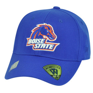 NCAA Boise State Broncos Top of the World Flex Fit Large Stretch Hat Cap Blue
