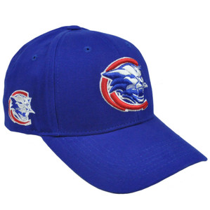 NCAA Nickel Unbrush Constructed Hat Cap Columbus State Cougars Velcro Adjustable