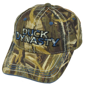 Duck Dynasty A&E TV Series Realtree Stitch Up Youth Slouch Buckle Hat Cap Camo