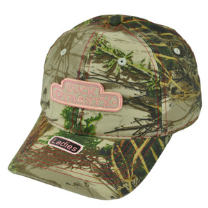 Duck Dynasty A&E TV Series Realtree Glitter Women Ladies Slouch Camo Hat Cap