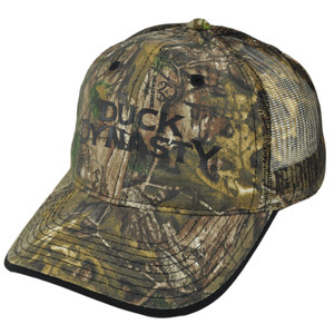 A&E Duck Dynasty Realtree Print Mesh Trucker Camouflage TV Series Buckle Hat Cap
