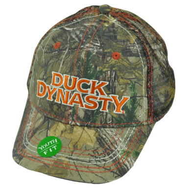 55b226648e5 A E TV Series Duck Dynasty Realtree Youth Mesh Camouflage Slouch Velcro Hat  Cap - Cap Store Online