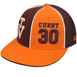 NCAA VIRGINIA TECH 30 FITTED 7 5/8 HAT CAP DELL CURRY