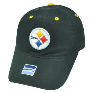 NFL Pittsburgh Steelers Castel Clip Buckle Women Ladies Relaxed Hat Cap Black