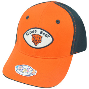 NFL Chicago Bears Marty Two Tone Toddler Velcro Adjustable Football Hat Cap