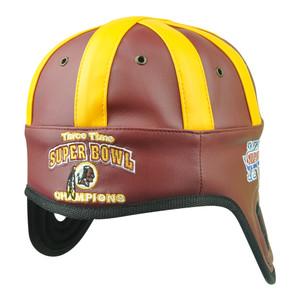 NFL Reebok Washington Redskins 3 Times Super Bowl Champ XVII Helmet Head Hat