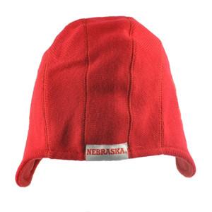 NCAA Nebraska Cornhuskers Game Day Helmet Beanie Knit Skully Hat Red Fan Favorit