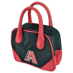 MLB Arizona Diamondbacks Mini Bowler Hand Bag Two Tone Accessories Baseball
