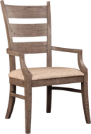 Modern Loft Ladder Back Arm Chair
