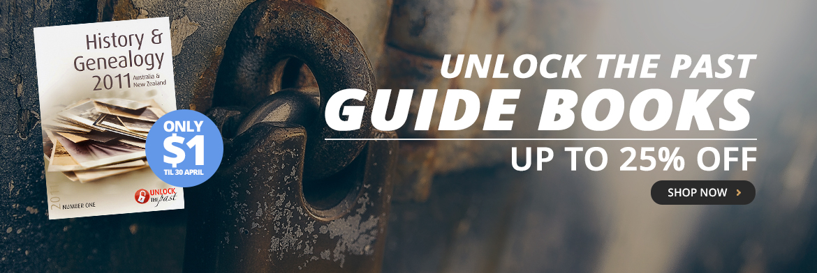 Unlock the Past Guide Books up to 25% off