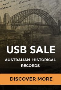 Historic Australian Records on USB