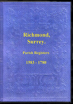 Surrey Parish Registers: Richmond 1583-1780