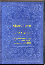 Yorkshire Parish Registers: Cherry Burton 1561-1740