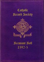 Recusant Roll No. 1 1592-3