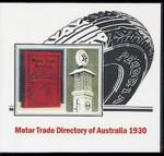 Motor Trade Directory of Australia 1930