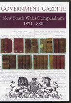 New South Wales Government Gazette Compendium 1871-1880