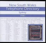 New South Wales Telephone Directory 1941: Sydney