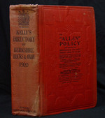 Berkshire, Buckinghamshire and Oxfordshire 1920 Kelly's Directory (original)
