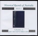 Historical Records of Australia series 1 Volume 23