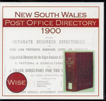 New South Wales Post Office Directory 1900 (Wise)