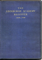 Edinburgh Academy Register, Midlothian 1824-1914