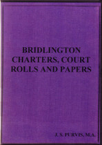 Yorkshire Charters, Court Rolls and Papers: Bridlington 1600s-1800s