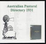 Australian Pastoral Directory 1931